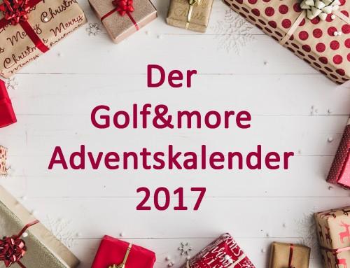 Der Golf&more Adventskalender!