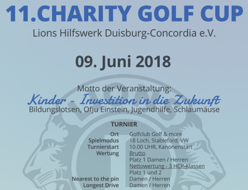 Lions Cup 2018 / Jetzt anmelden