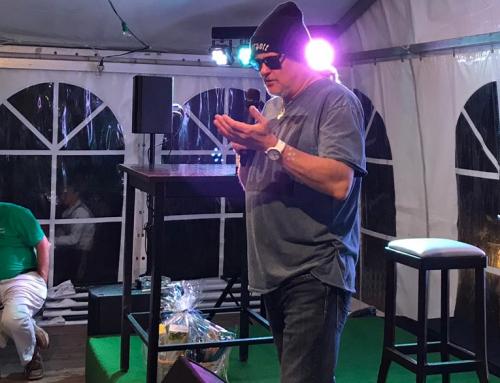 Markus Krebs beim Golf&more-Jubiläum