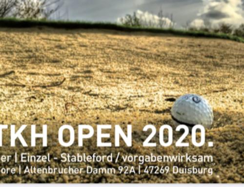 Turniersaison beginnt mit TKH Open am 17. Juni