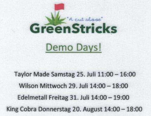 Demo Days bei Golf&more