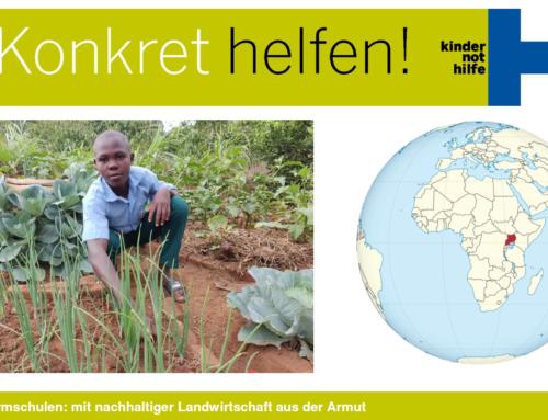 Kindernothilfe-Turnier: Wir unterstützen Farmschulen in Uganda
